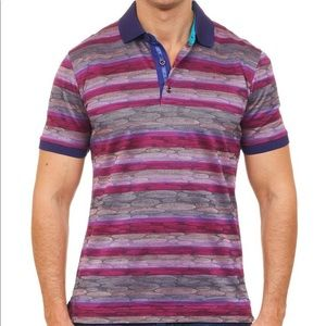 Robert Graham Printed Polo